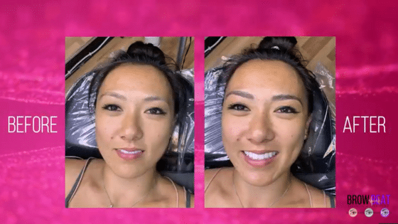 Different Eyebrow Shapes: Kimberly's Microblading Treatment