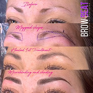 Microblading Customers Bb Before And After 2
